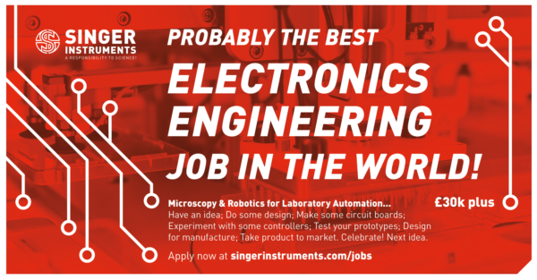 Electronics Engineer For Microscopy And Robotics Singer Instruments
